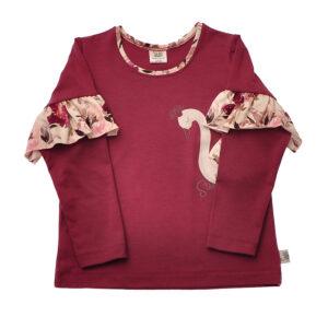 Majica z dolgimi rokavi za puncko